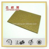 Lychee Embossed Mode for Bathroom lexan polycarbonate sheet 1/4