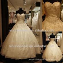 Q-6267 Sweetheat Appliques Vestido de casamento