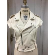 Женская куртка Moto Vet из искусственной кожи