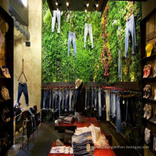 Best selling new design green artificial foliage privacy for shops decoration