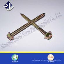 Gr8.8 Tornillo de madera con brida hexagonal