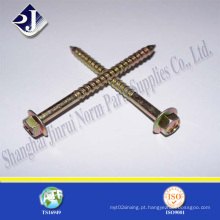 Gr8.8 parafuso de madeira Flange hexagonal