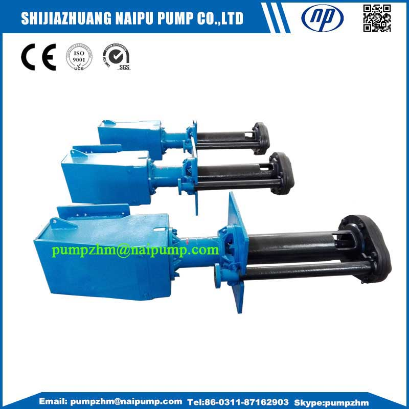 24 vertical shaft slurry pumps