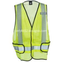 High Visibility Adjustable Waist Safety Vest