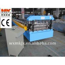 Farbige Stahl-Kreisbogenplatten-Rollformmaschine