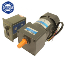 60W AC Electric Motor Reduction Gearbox with Speed Controller