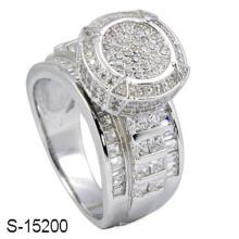 Novo modelo 925 anel de jóias de moda de prata esterlina