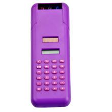 ball pen in penholder calculator 8 digits solar power