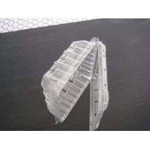 Bandeja vegetal profunda plástica descartável da bolha