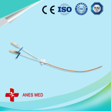 Double Lumen Antimicrobial Central Venous Catheter