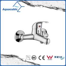 Chromed Brass Bath Shower Faucet with Zinc Handle (AF1963-2)