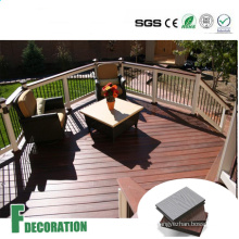 Co-Extrusion WPC Solid Core Composite Decking Flooring