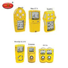 H2S CO O2 LEL Monitor de quatro gases