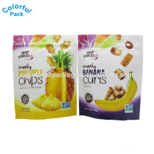 Food Grade Foil Ziplock Chips and Popcorn Food Nut Sealed Plastic Packaging Bags