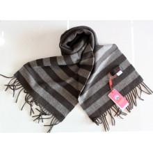 As lãs do iaque de 100% feitas malha listraram / caxemira / lãs / Scarves dos iaques / matéria têxtil / tela
