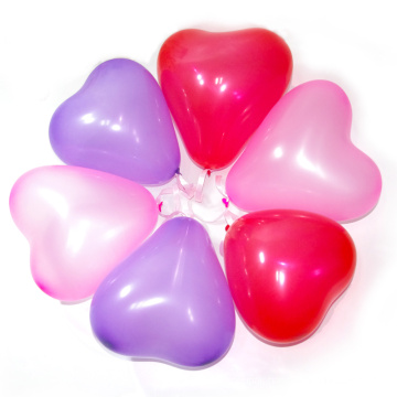 Heart Shaped Latex Balloon Toys for Valentine′s Day