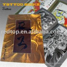 Livro clássico do esboço do tatuagem