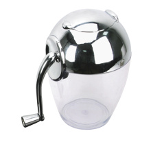CHROMED FINISH TOP ICE CRUSHER