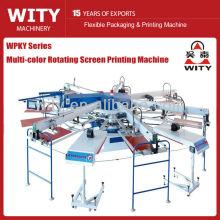 Многоцветная автоматическая машина для трафаретной печати WPKY