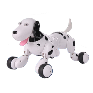 Remote Control Spotted Dog Robot