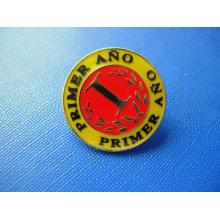 Badge en métal moulé sous pression émaillé en émail (GZHY-CY-030)
