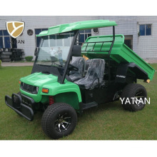 Best 2 Seater Prices 5kw 48V Electric Farm Truck Vehicle