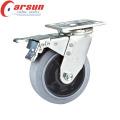 200мм сверхмощный Рицинус Шарнирного соединения с токопроводящей колеса