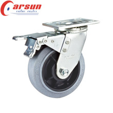 100mm Heavy Duty Rotating Conductive Wheel Caster (with metal total lock)