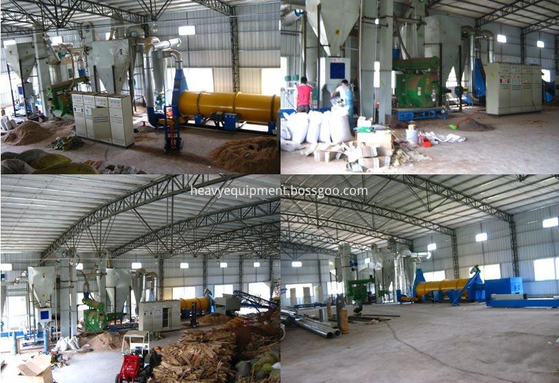 Biomass Pellet Production Plant