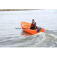 China mais barato plástico PE barco traineira 310cm