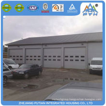 Prefabricated american style steel metal prefabricated garage