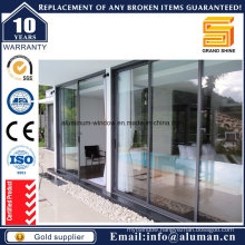 6mm Reflective Tempered Glass Sliding Door