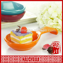 Apfel gehackte Bakeware Set Keramik Apfelkuchen Kuchen Platte Bakeware mit Edelstahl Regal