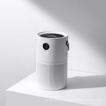 Activated Carbon HEPA Filter Desktop Home Room Mini Portable Air Purifier Air Purification Systemwith Night Light