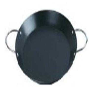 Nonstick Carbon Steel Shallow Round Roaster pan