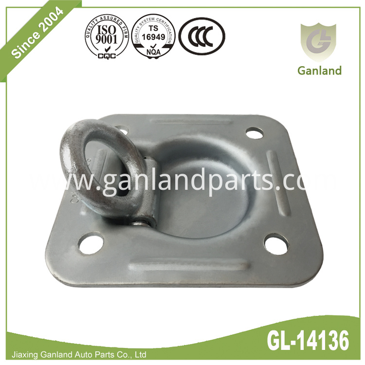 Recessed D Ring Cargo Tiedown GL-14136