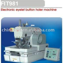 Machine à boutonnière oeillet électronique 981 à trou