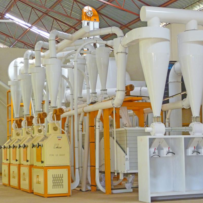 Tanzania 30TPD Maize Milling Plant