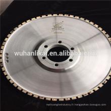 diamant profil fritté roue pour plaquette de frein