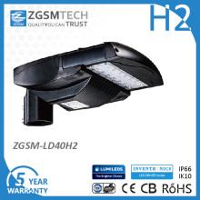 2016 Класс защиты IP66 UL перечисленное DLC 40W светодиодный уличный свет