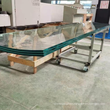Jumbo size curved tempered laminated glass bent double toughened laminated glass panels supplier