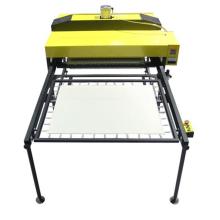 2017 garantía comercial máquina de sublimación de gran tamaño máquina de prensa de calor para prendas de vestir