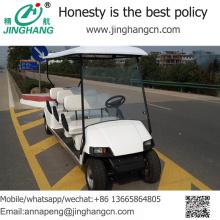 Venda quente 6 passageiros adulto ir carrinho / carrinho de golfe com ótimo preço