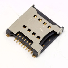 8 Pin SIM Card with Switch Detect Pin Per GSM 11.11 Standard