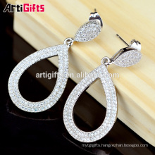 Earring components custom design fashion ladies earrings