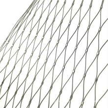 Hand woven Wire Rope Mesh/Stainless Steel Rope Mesh