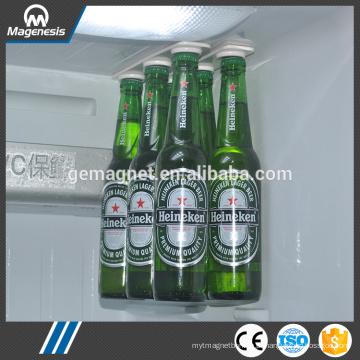 Ímã da cerveja, ganchos magnéticos da cerveja / suporte para a cerveja e as bebidas, tiras do refrigerador do armazenamento da garrafa magnética de Bottleloft