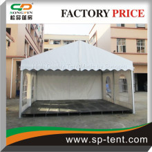 Small size 5x6m industrial tent with raised flooring system