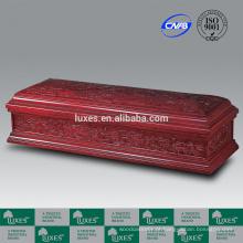 Mão chinesa esculpida caixão para venda