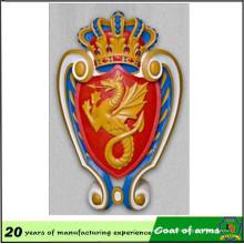 Emblème Usine Spécialisée en Métal 3D Emblème